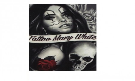 Tattoo mary white