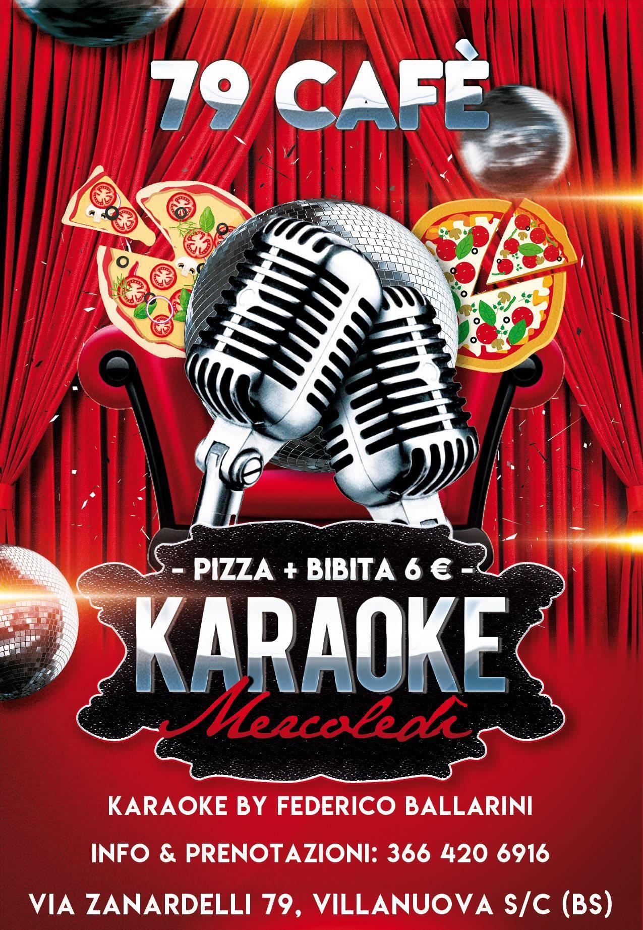 Mercoledì Karaoke