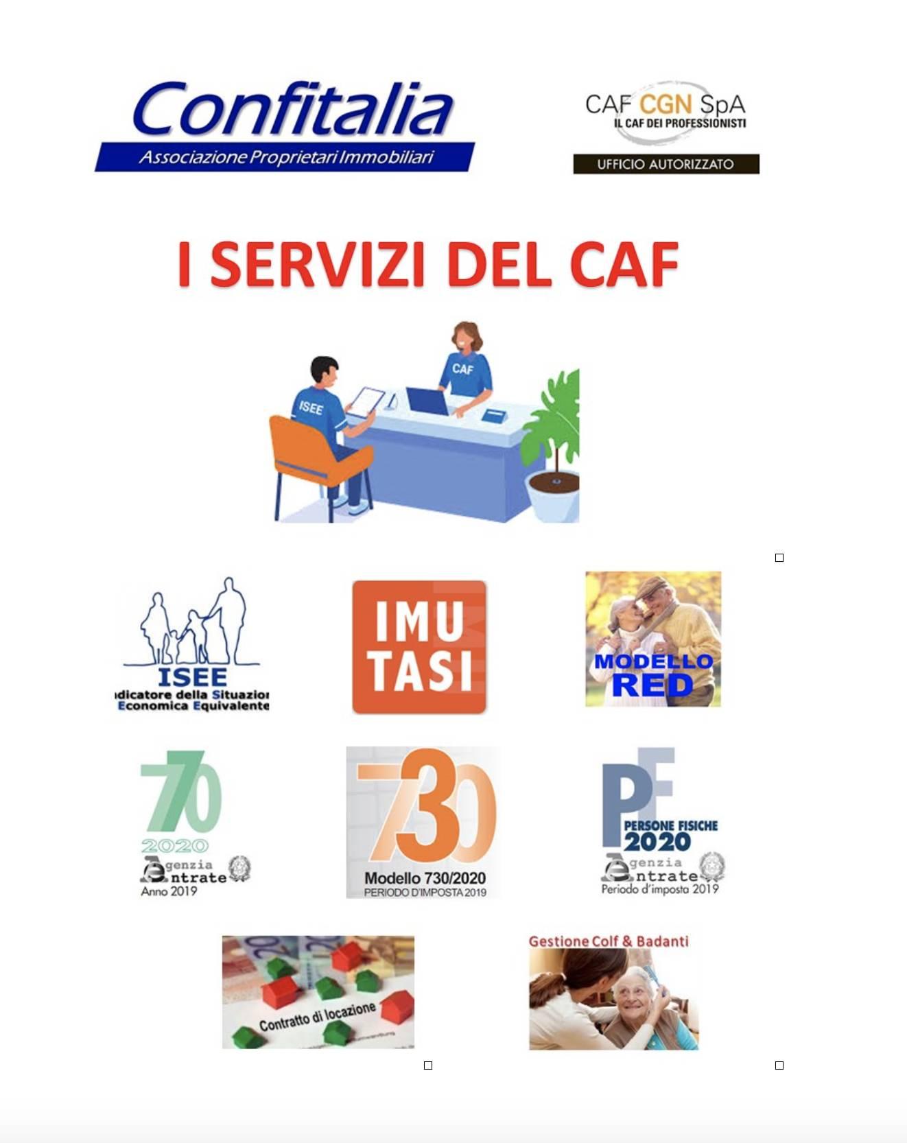 i Servizi del CAF