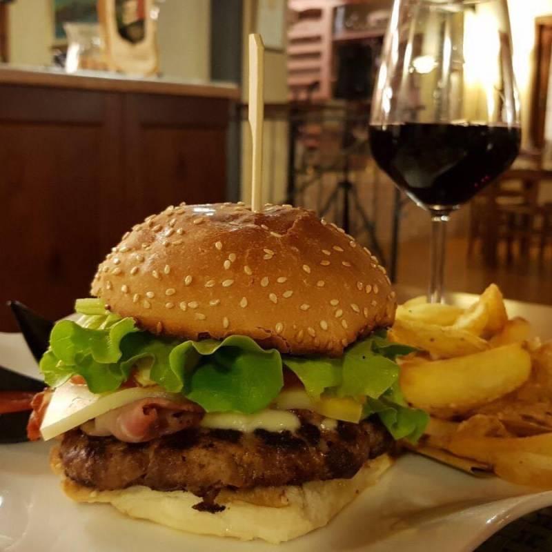 Hamburger D Angus della Valcasoni