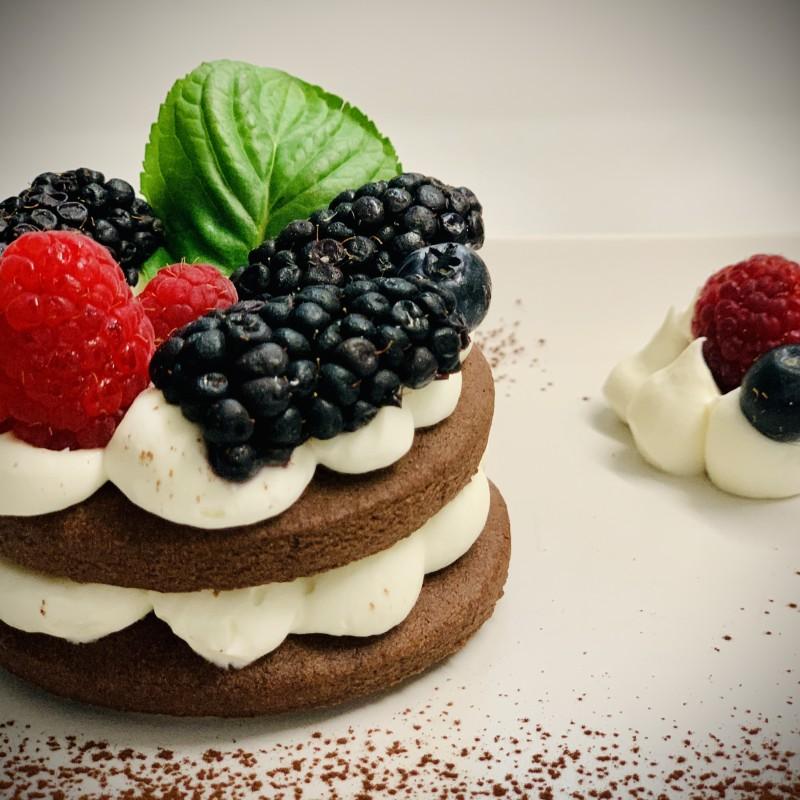 Cream Tart con crema di mascarpone e frutti di bosco