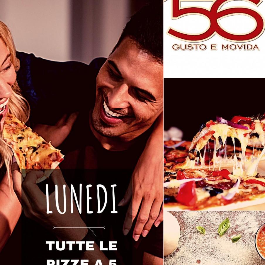 Lunedi pizze 5 euro