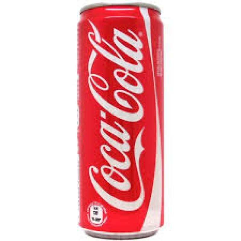 Coca cola latt. 0,33 lt