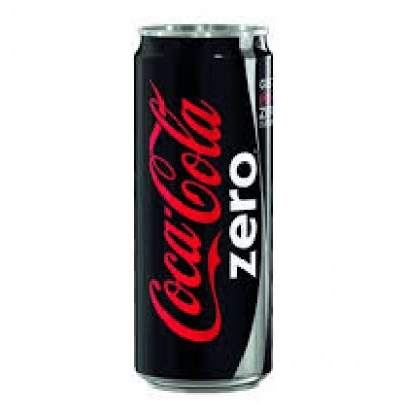 Coca cola zero latt. 0,33 lt