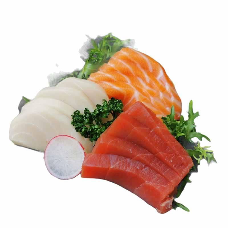 42 - Sashimi salmone Kaizen 4 pz (solo cena )
