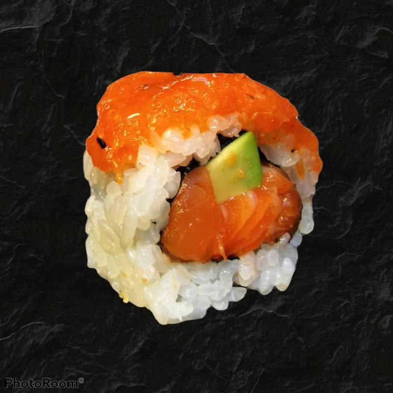 68. spicy sake roll