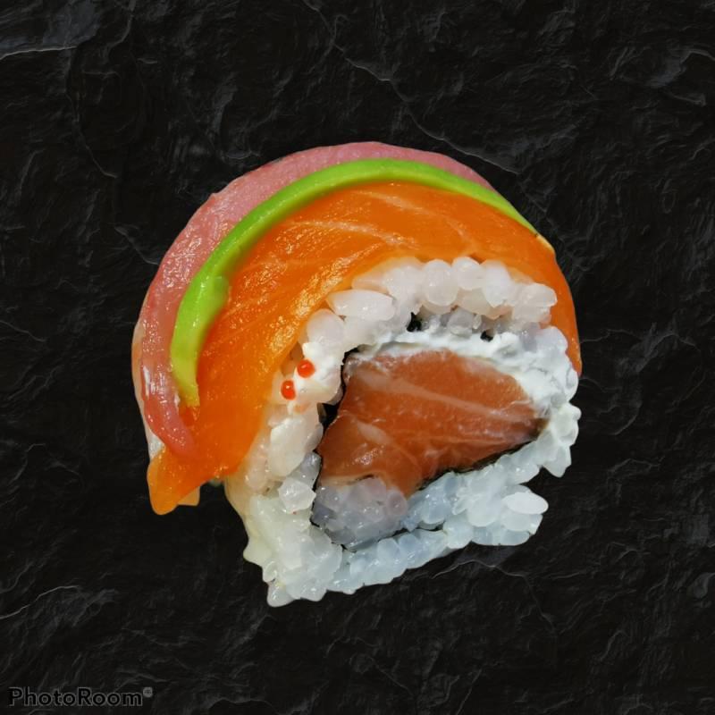 18. spicy tuna roll 4 pz