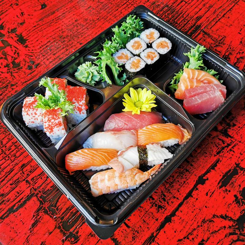 Bento sushi la dogana food