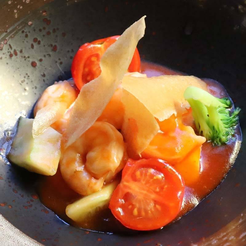 Z3 gamberetti salati con salsa agrodolce 糖醋虾