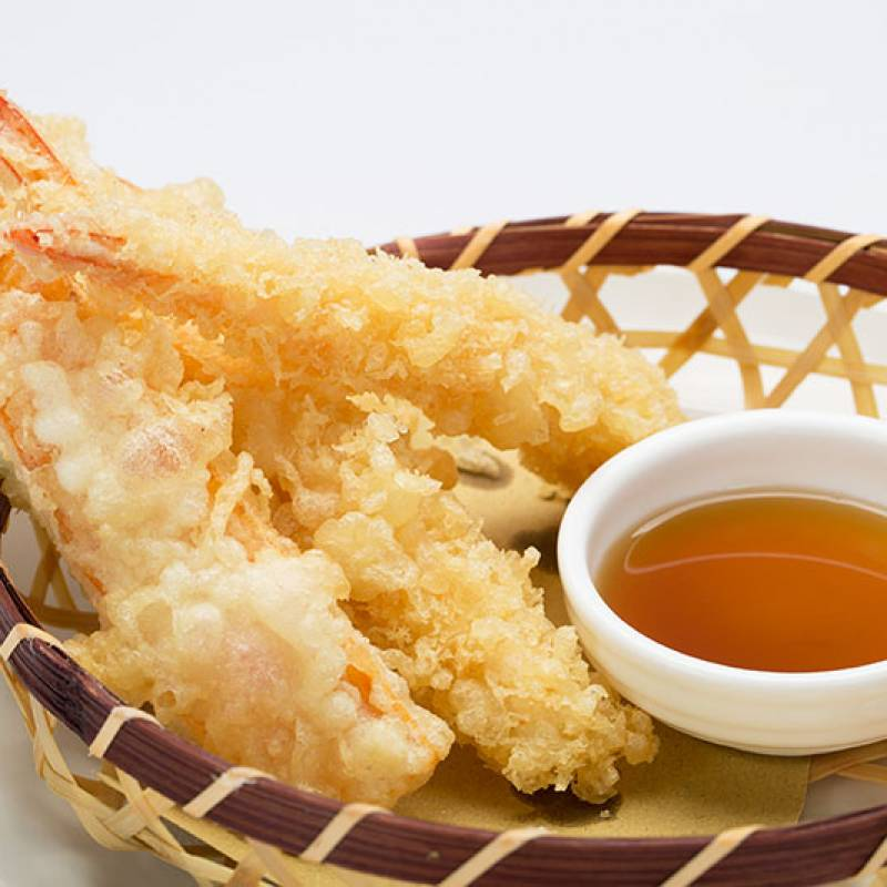 A8 tempura di gamberi  3pz 虾天妇罗