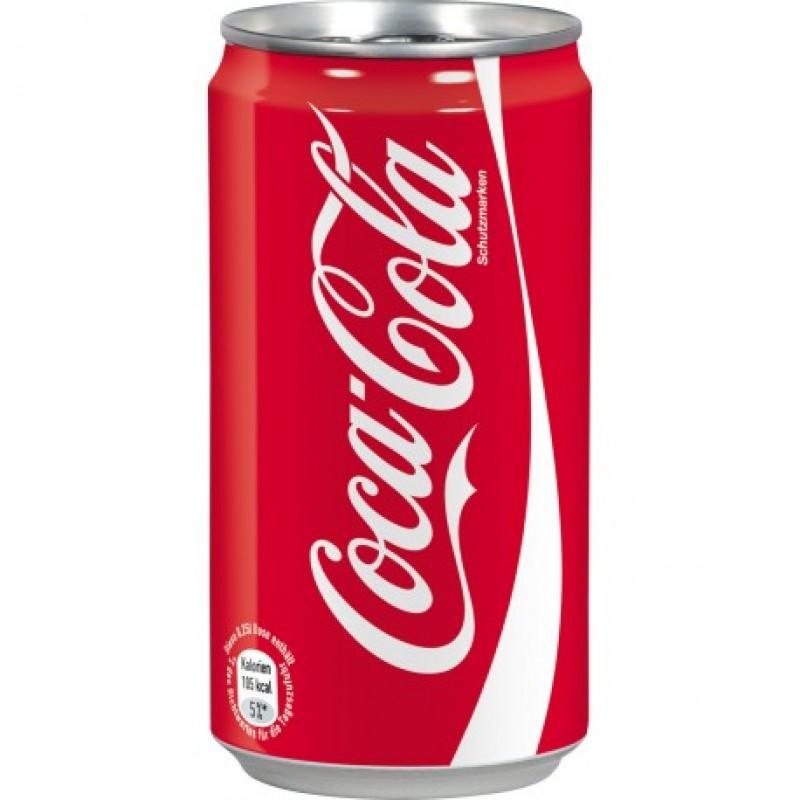Coca cola latt. 0.33 lt regular