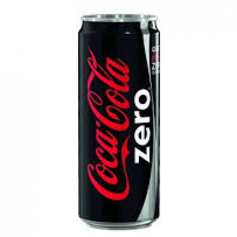 Coca cola latt. 0,33 lt zero