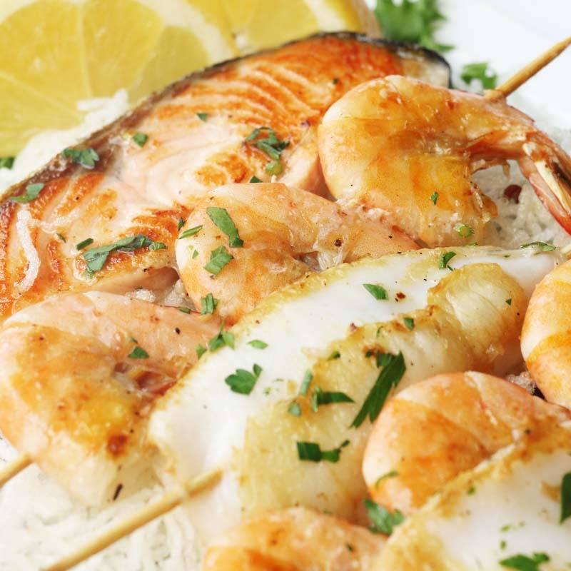 Z17 Grigliata mista di pesce cena