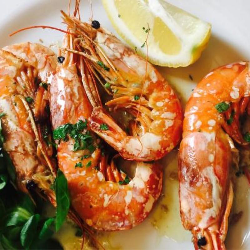 Z5 gamb. argentini griglia  烤大虾 (solo cena 1 porz/pax)