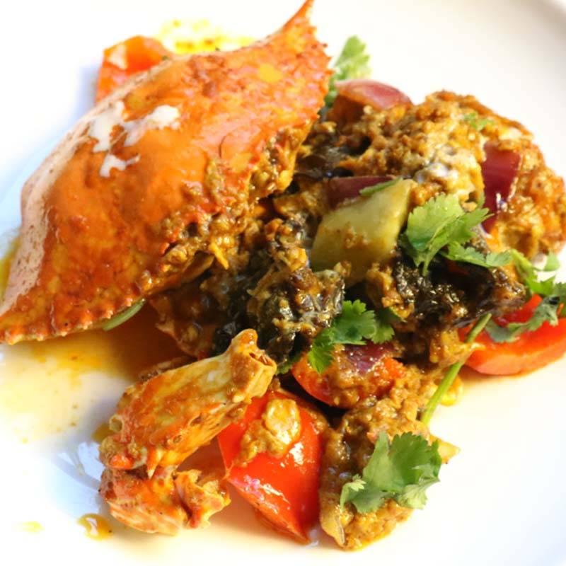 Z10 granchio in salsa thai 泰式螃蟹
