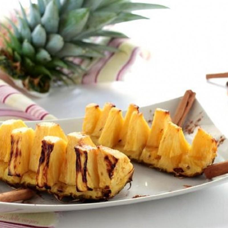 D5 ananas grigliato alla cannella