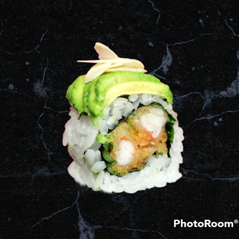 U2. sake mango roll  4pz (solo a cena)