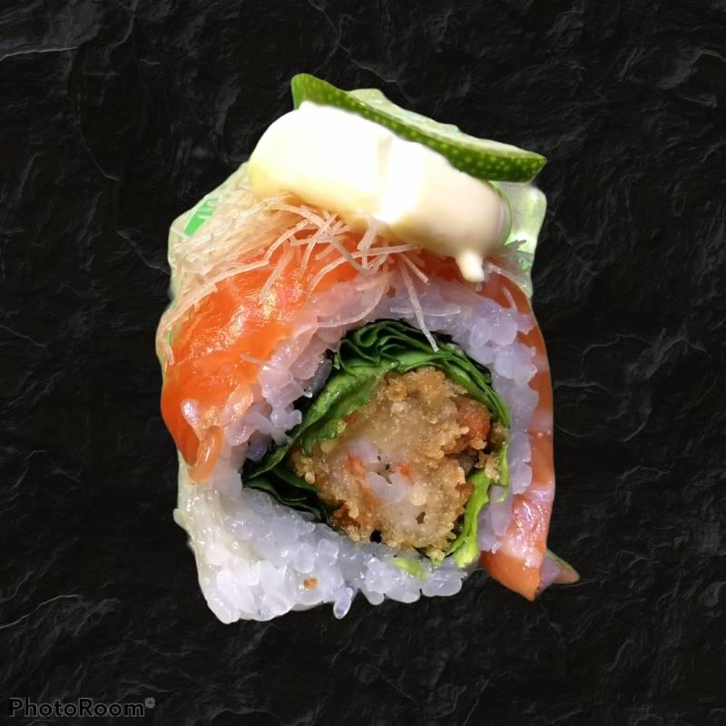 21. sake tempura 4pz