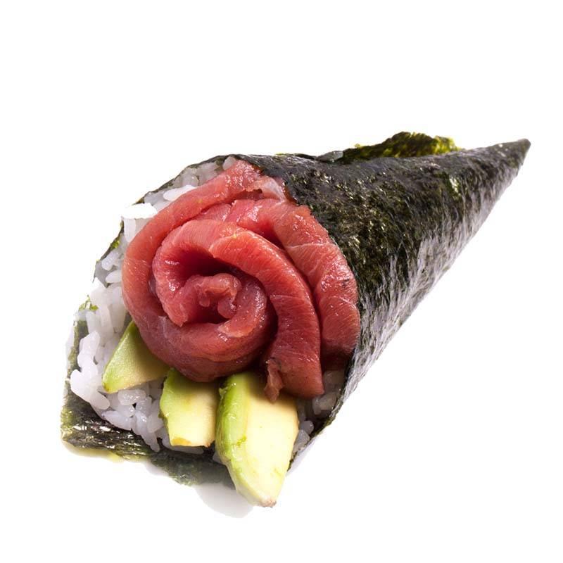 7. spicy tuna temaki