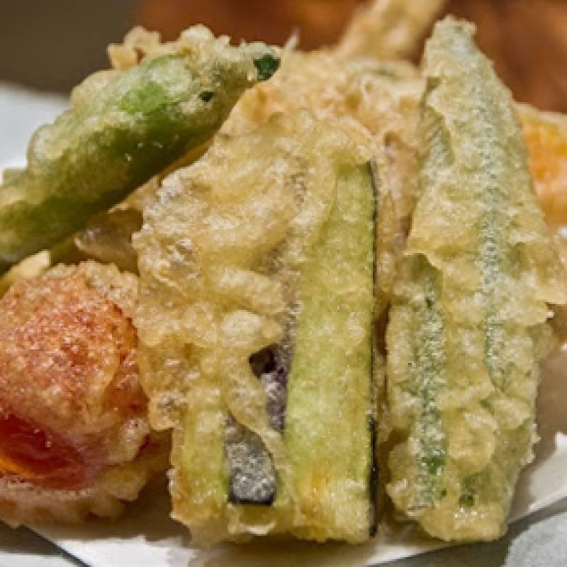 A9 tempura di verdure 蔬菜天妇罗