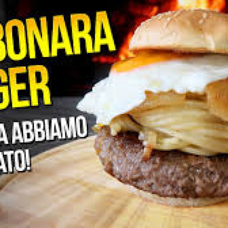Hamburger di Fassona alla Carbonara 150 gr