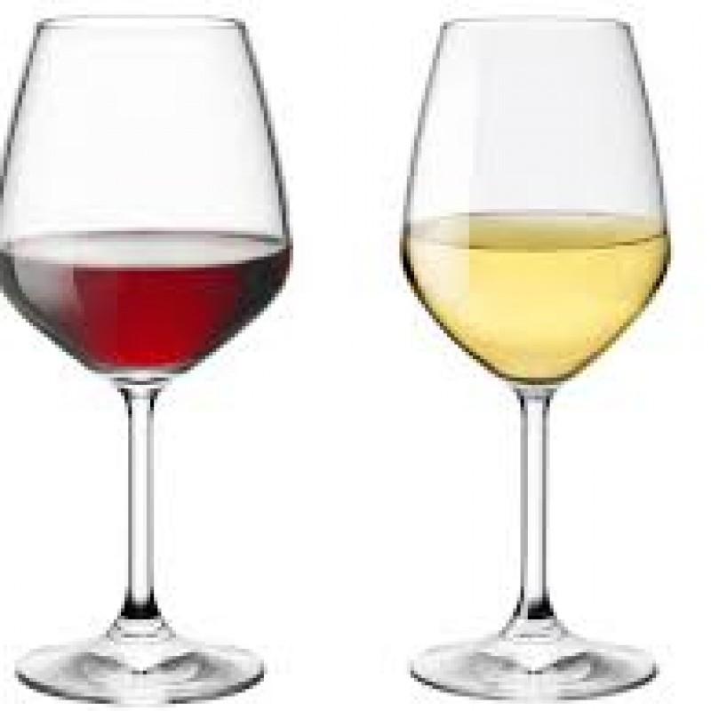 Vino Calice bianco/rosso