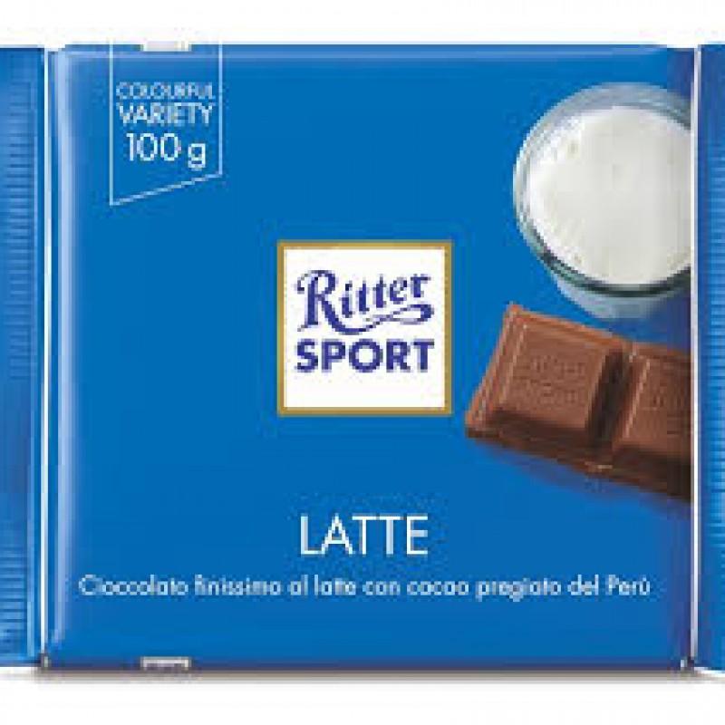 Ritter sport al latte