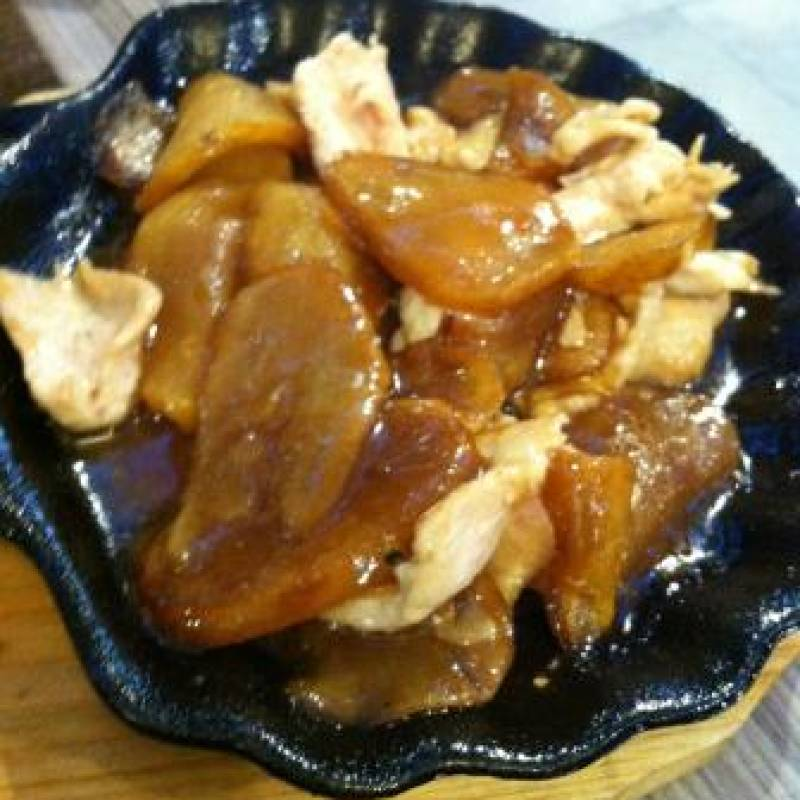 R. Pollo con patate