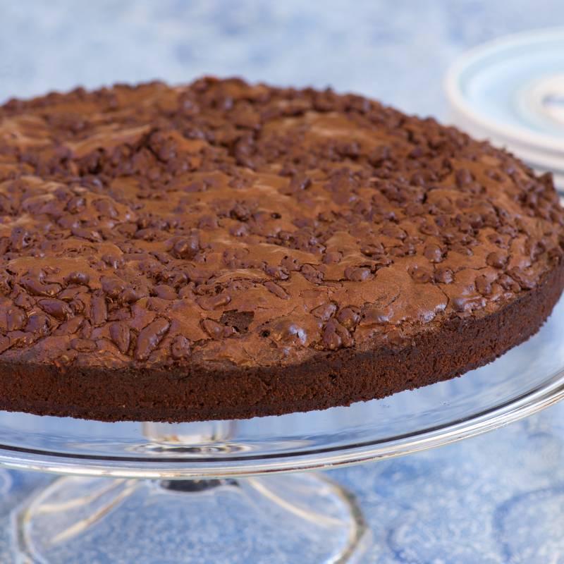 Crostata crema nocciola e cacao