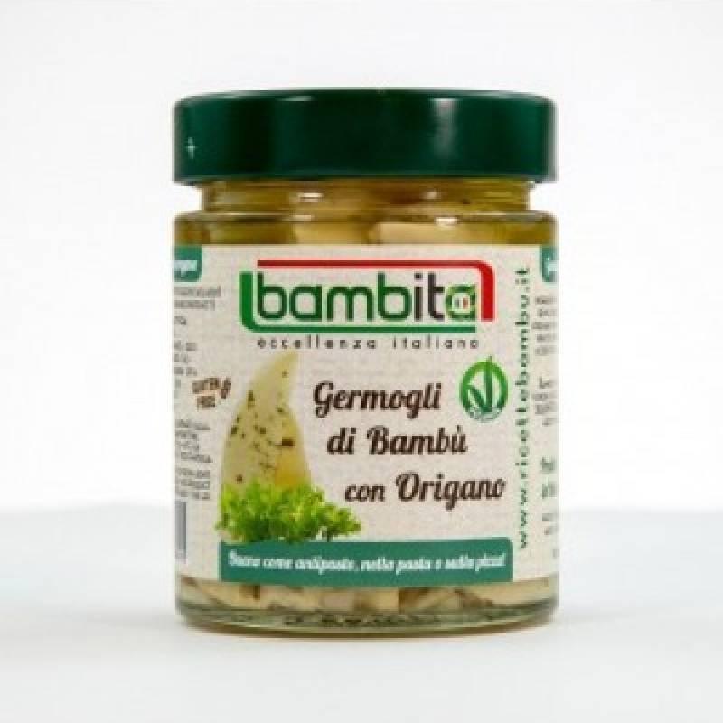 Germogli di Bambù con origano