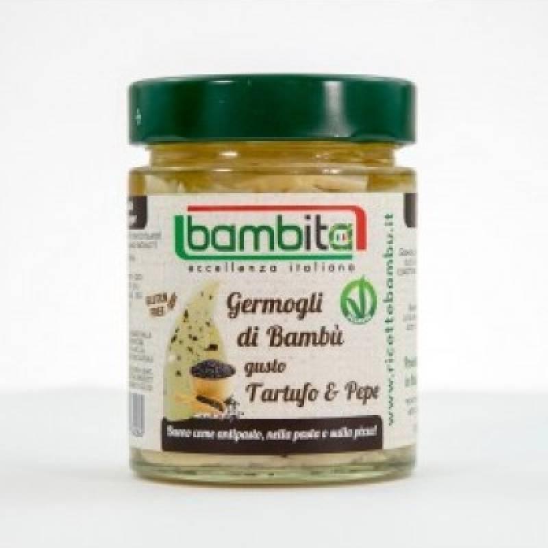 Germogli di Bambù Tartufo e pepe