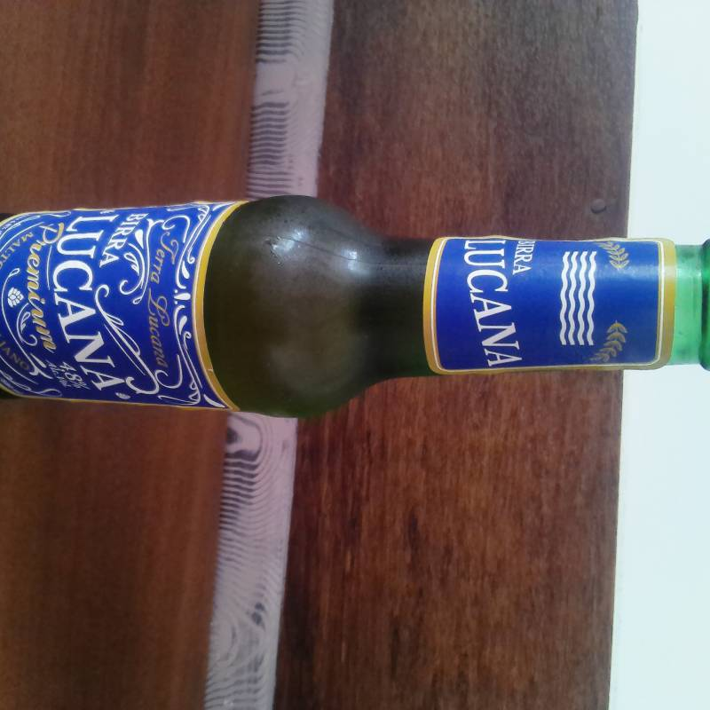 Birra Lucana 33cl,  4,8%