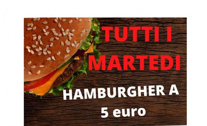 Hamburger a 5 euro
