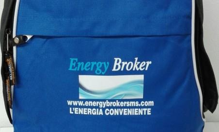 IN OMAGGIO il pratico zainetto Energy Br