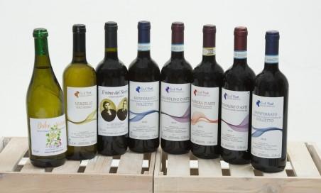 Cassetta in legno di vini pregiati