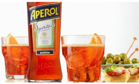 1 aperol spritz+stuzzichini