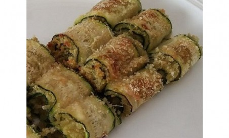 Involtini di zucchine kg.1