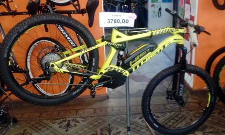 Bicicletta elettrica modello b-rush