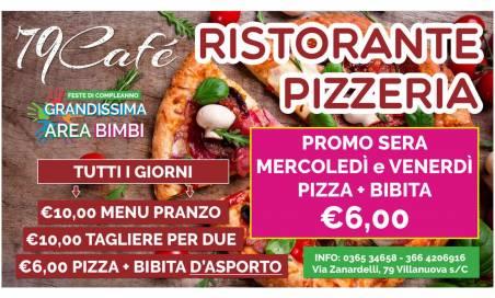 Pizza + Bibita 6€