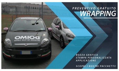 Wrapping auto aziendale