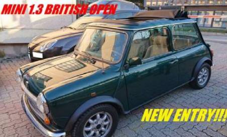 Mini 1.3 british open