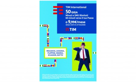 Tim international 50 giga